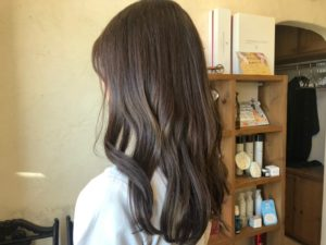 倉敷の美容院CoRte. leaf店のヘアスタイル